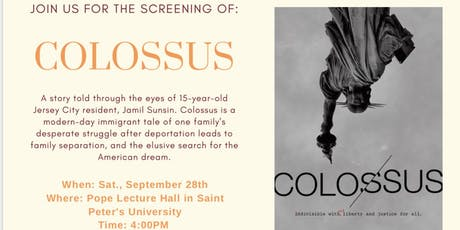 "Screening of ""Colossus""  tickets"