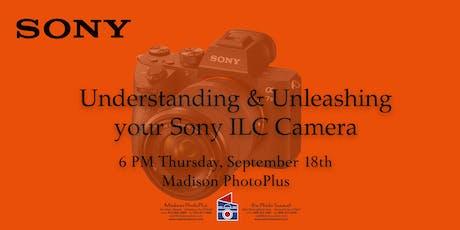 A night with Sony Alpha ILC Cameras tickets