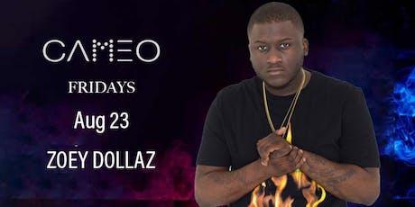 Zoey Dollaz Performing @ CAMEO Nightclub South Miami Beach - Friday Aug 23 tickets