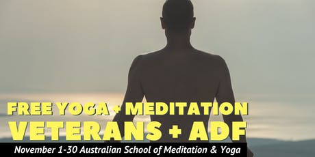 Free Yoga in November for Veterans and Active Duty ADF tickets