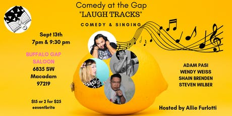 Comedy at the Gap:  Laugh Tracks tickets