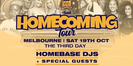 HOMEBASE | HOMECOMING TOUR tickets