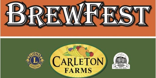 Brewfest at Carleton Farms with the Lake Stevens Lions Club