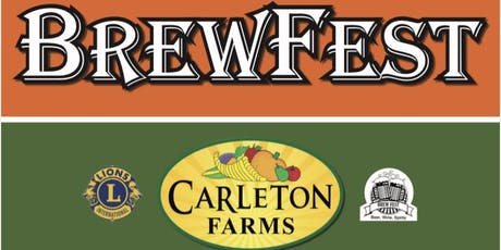 Brewfest at Carleton Farms with the Lake Stevens Lions Club tickets