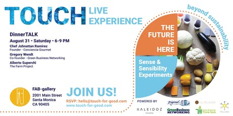 THE FUTURE IS HERE - Live Experience - DinnerTALK tickets