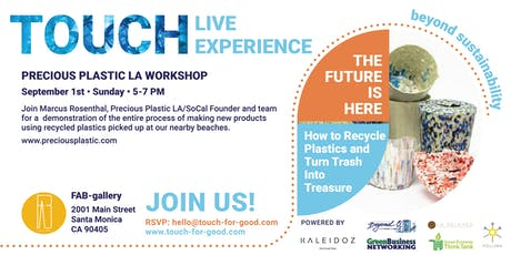 "WORKSHOP  ""How to Recycle Plastic and Turn Trash into Treasure"" tickets"