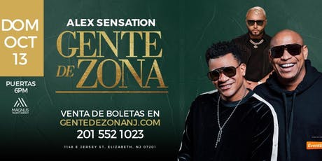 GENTE DE ZONA EN CONCIERTO CON ALEX SENSATION EN NEW JERSEY / NYC! tickets