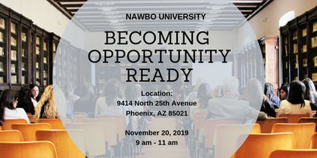NAWBO University - Are You Ready For the Next Opportunity? tickets