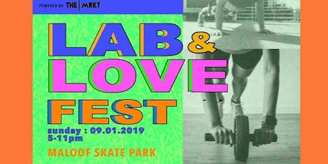 LAB and LOVE Festival Vending tickets
