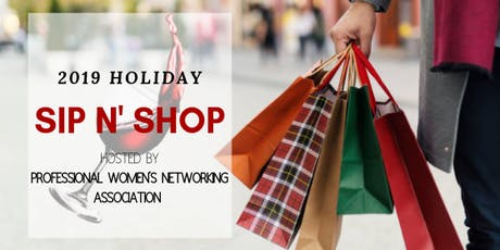 Holiday Sip N' Shop tickets