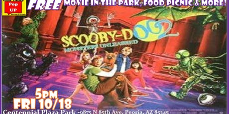 A MonsterBash Halloween Food Truck Movie Night & More! Fri 10/18 (Scooby Doo 2-Monsters Unleashed!) tickets