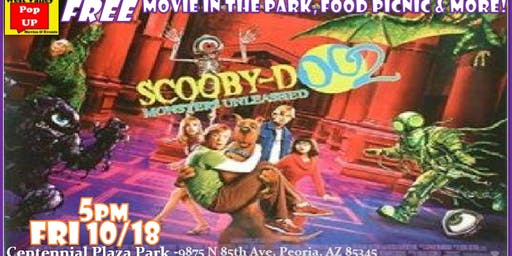 A MonsterBash Halloween Food Truck Movie Night & More! Fri 10/18 (Scooby Doo 2-Monsters Unleashed!)