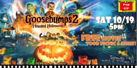 A Spooktacular Food Truck Movie Night & More! Sat 10/19 (Goosebumps 2) tickets