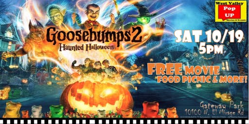 A Spooktacular Food Truck Movie Night & More! Sat 10/19 (Goosebumps 2)