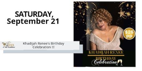 NAM Events LLC - Jazz Concert Series: Khadijah Renee & Trio tickets