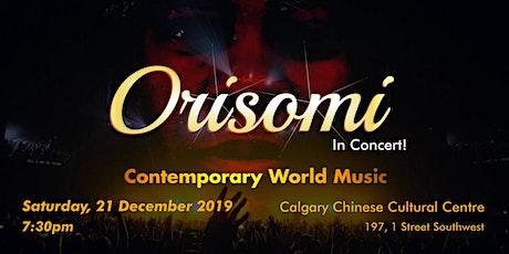 ORISOMI Contemporary World Music tickets