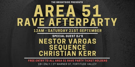 AREA 51 RAVE AFTERPARTY tickets