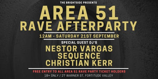 AREA 51 RAVE AFTERPARTY