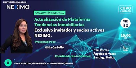 Actualización de la Plataforma, Tendencias Digitales Inmobiliarias (CVA) tickets
