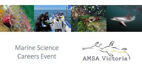 Marine Careers Day - AMSA Victoria tickets