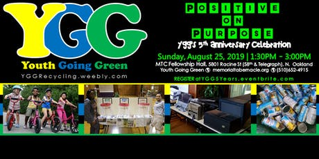 Positive On Purpose: YGG's 5th Anniversary Celebration tickets