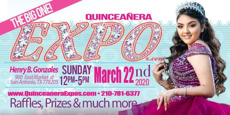 San Antonio Quinceanera Expo March 22nd 2022 At the Henry B. Gonzalez From 12 to 5 tickets