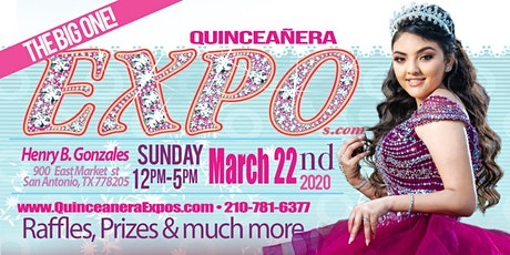 San Antonio Quinceanera Expo March 22nd 2020 At the Henry B. Gonzalez From 12 to 5 tickets