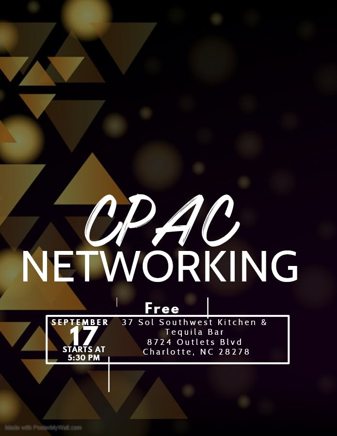 Charlotte CPAC Networking Event