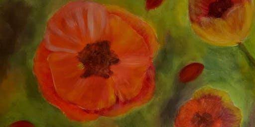 Paint Night - Poppies