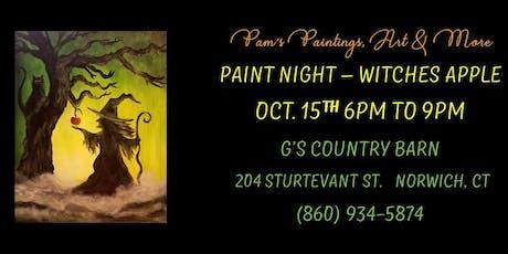 Paint Night - Poison Apple tickets