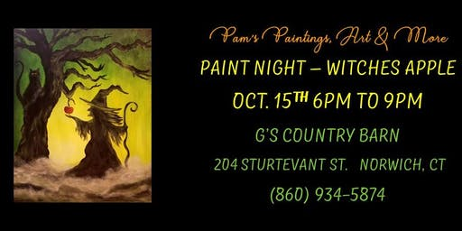 Paint Night - Poison Apple
