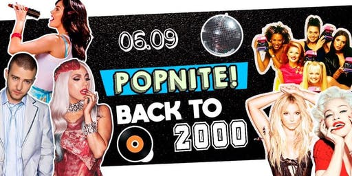 POPNITE! - Back TO 2000' - Open Algodão doce e Vodka