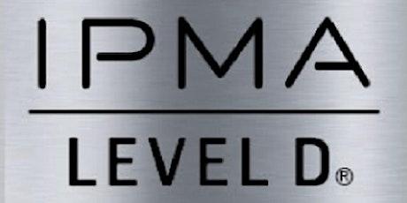 IPMA – D 3 Days Training in Glasgow tickets