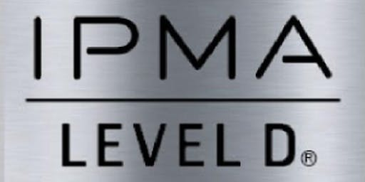 IPMA – D 3 Days Training in Reading