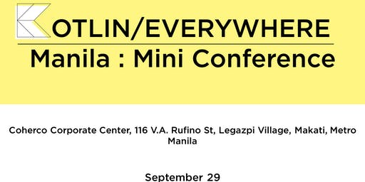 Kotlin/Everywhere: Manila