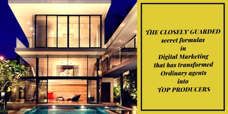 REAL ESTATE DIGITAL MARKETING TRADE SECRETS WORKSHOP  tickets