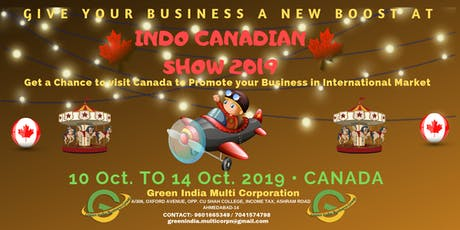 INDO CANADIAN EXPO TOUR PACKAGE tickets