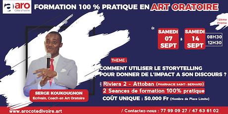 COMMENT UTILISER LE STORYTELLING POUR DONNER DE L'IMPACT A SON DISCOURS ? tickets