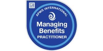 Managing Benefits Practitioner 2 Days Training in Nottingham