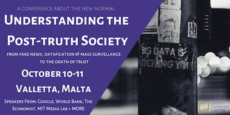 Understanding the Post-truth Society Conference tickets