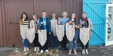 November Beginners Macrame Wall Hanging Class  tickets