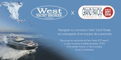 Grand Pavois 2019 x West Yacht Broker billets