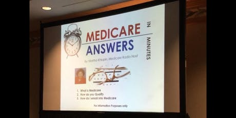 Medicare 101 Basics Class at Vintage Cave Cafe tickets