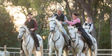 Rêve de Camargue - Dîner Spectacle Equestre billets