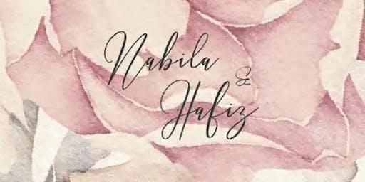 Wedding Invitation Nabila & Hafiz