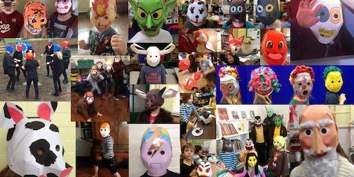 Cartoon Mask Making Club