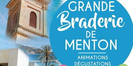 LA GRANDE BRADERIE DE MENTON billets