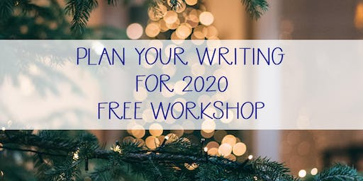 Planning Your Fiction For 2020 - Free Workshop