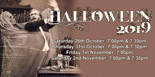 Halloween Saturday Ghost Walk