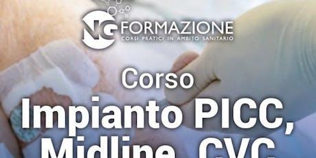 Impianto Picc e Midline Bologna 21 Settembre biglietti